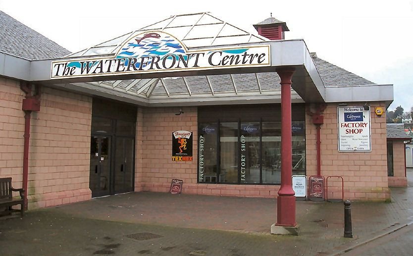 commercial property - Unit 1 The Waterfront Centre Heritage Wharf, Queens Park Place Oban, Argyll PA34 5RS