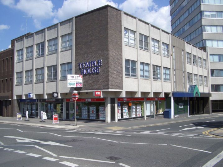 commercial property - Temple House 115/118 Commercial Road Swindon, Wiltshire SN1 5PL
