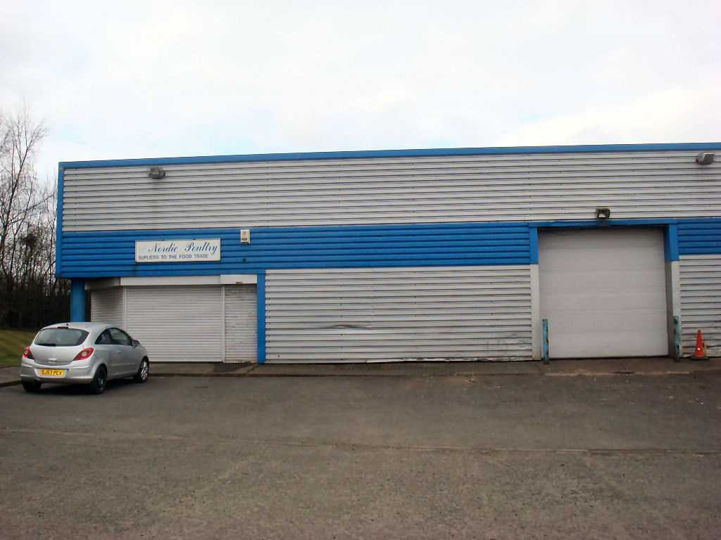 commercial property - Unit 3 Block 2 Whistleberry Industrial Estate  Hamilton, Blantyre ML3 0ED