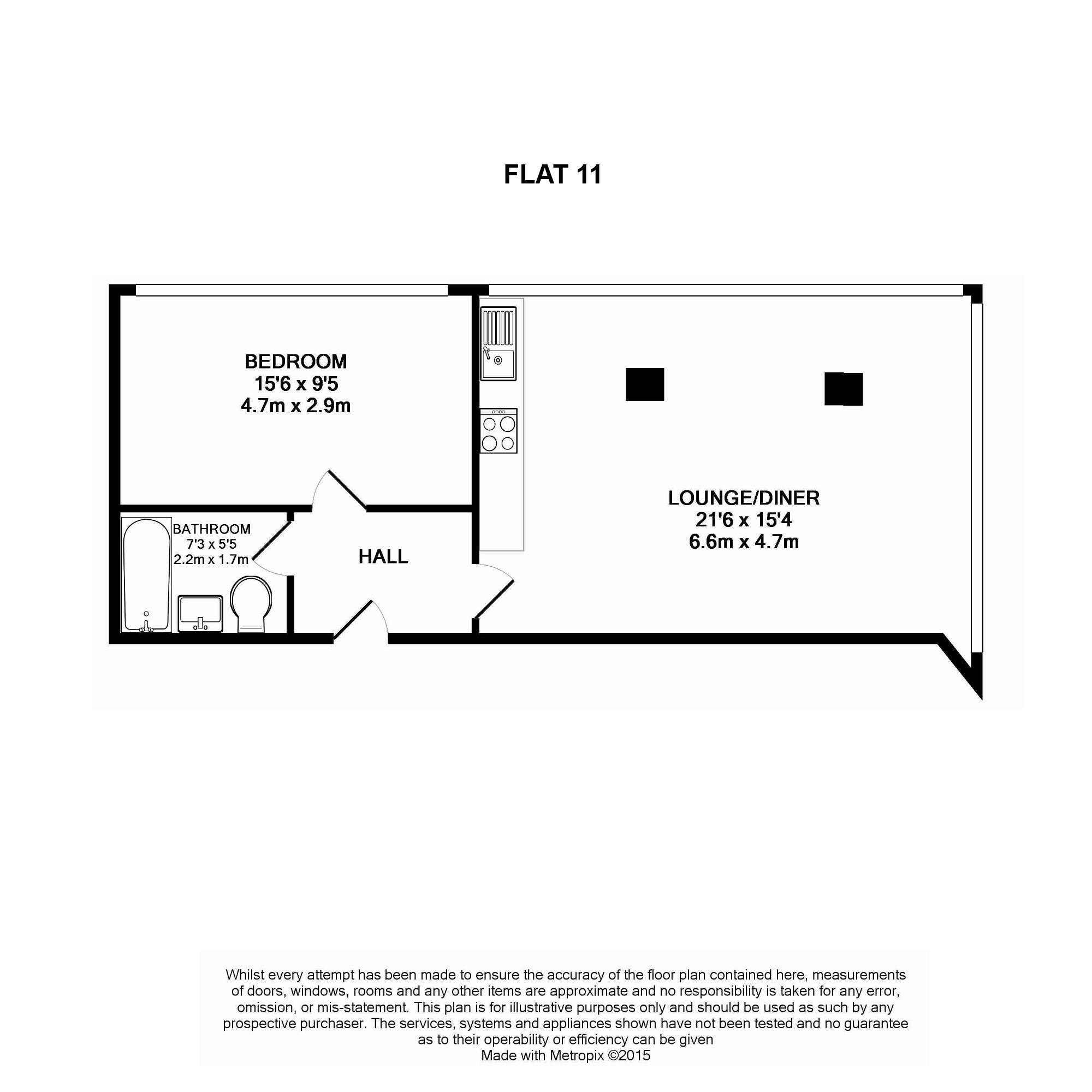 Flat To Rent TW13 6AP