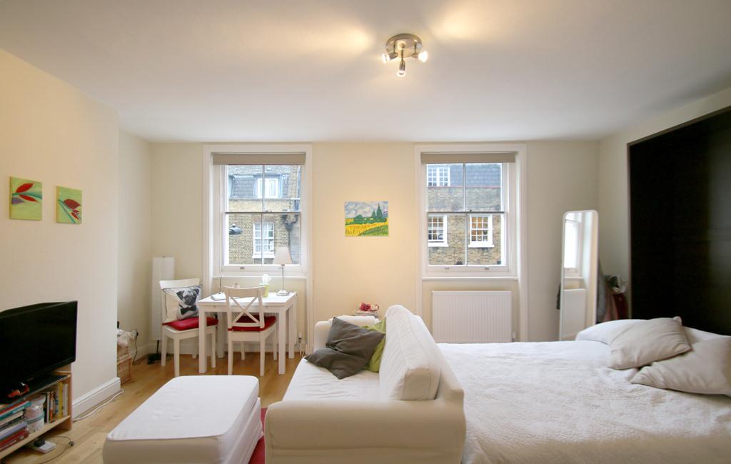 Studio Flat To Rent At 143 Cleveland Street 2 Fitzrovia W1t 6qq 00003155